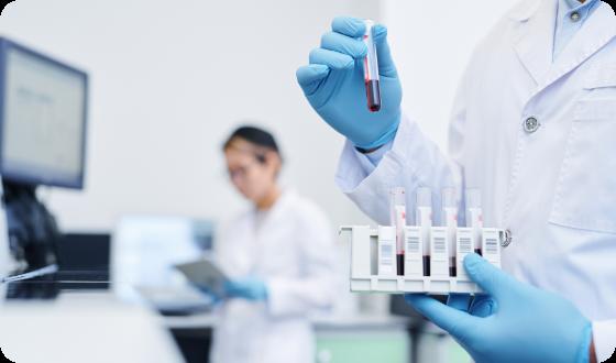 preparing-medical-sample